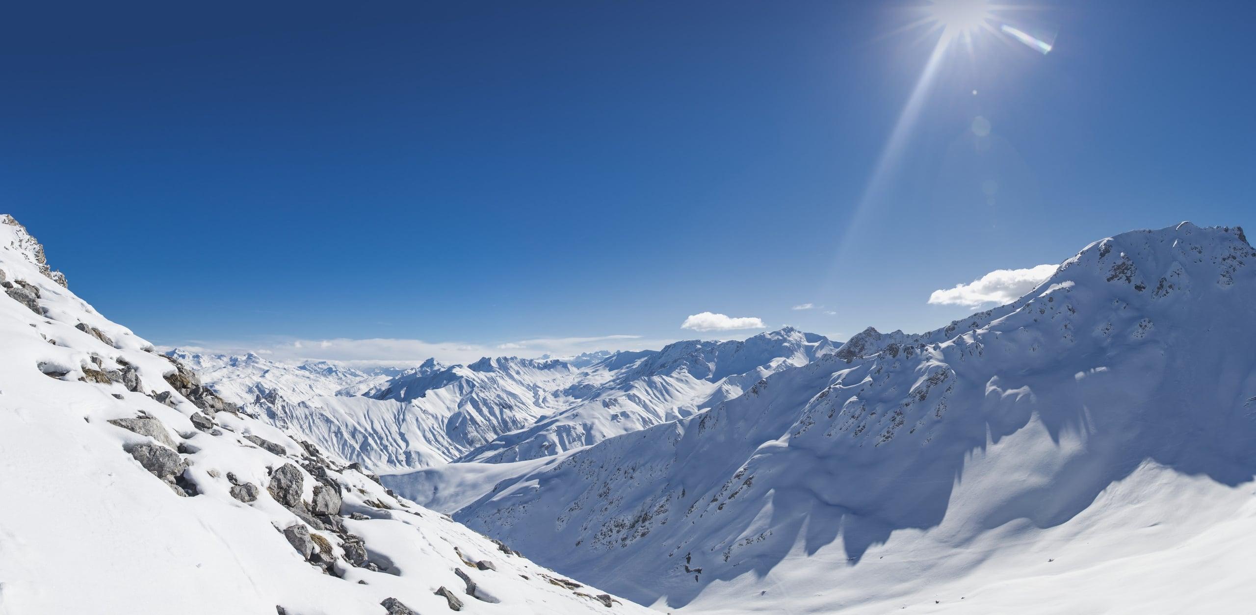 Narty w Alpach